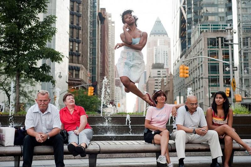 5 лучших фотопроектов о танцорах внесцены
