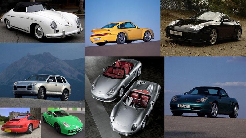 Лучшие архивные модели Porsche
