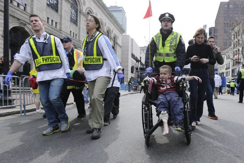 Взрыв на марафоне в Бостоне — первый теракт в США после <sup class=