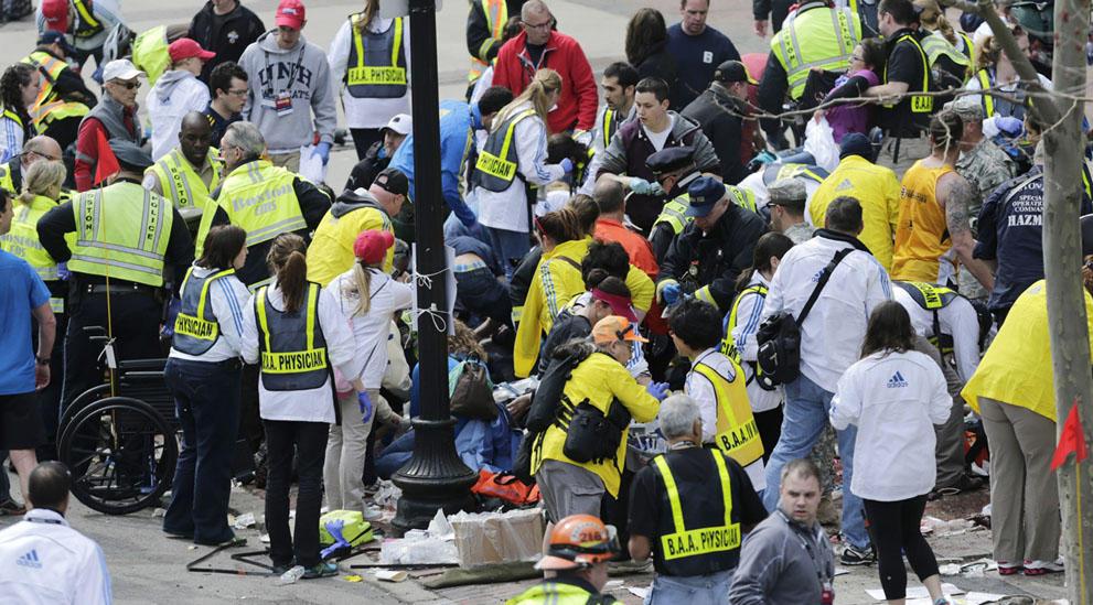 s b05 09 Взрыв на марафоне в Бостоне   первый теракт в США после 9/11