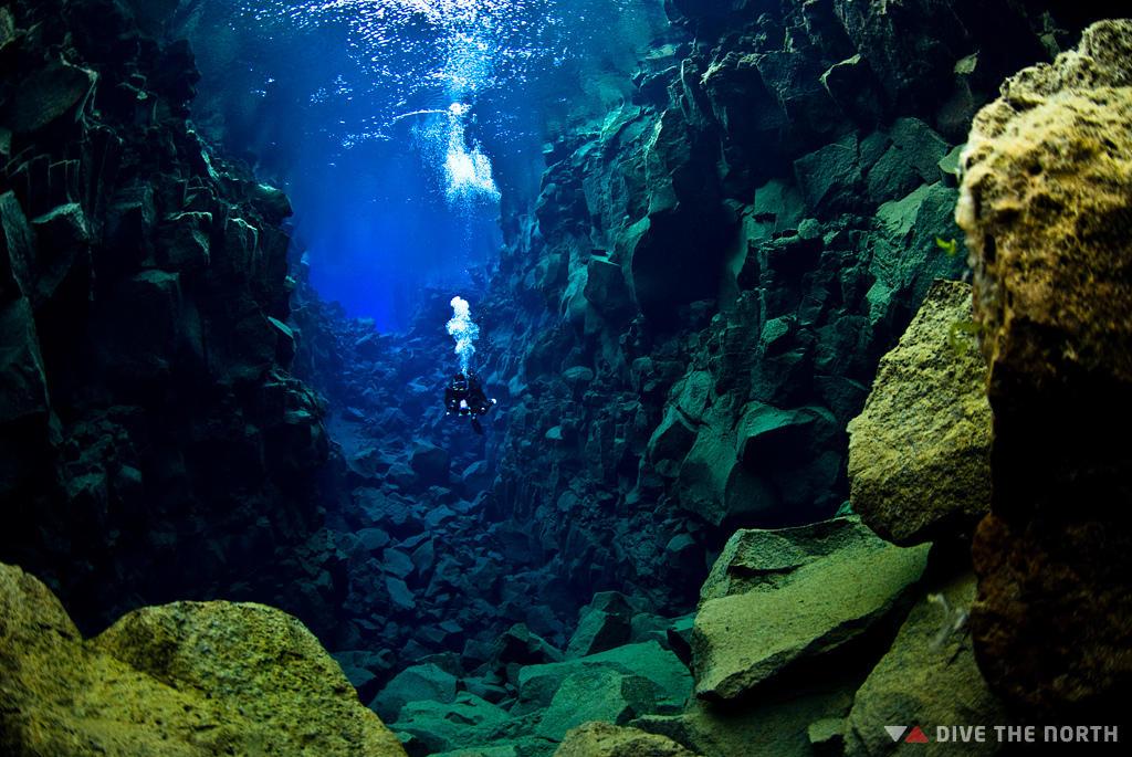 silfra13 Исландский разлом Силфра   меж двух частей света