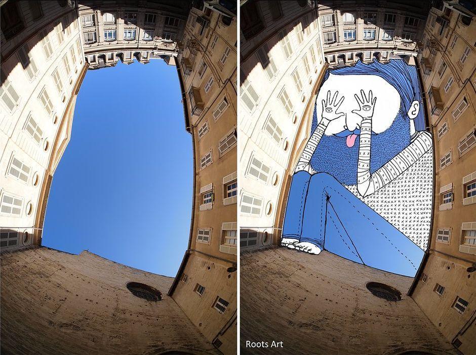 Рисунки в небе