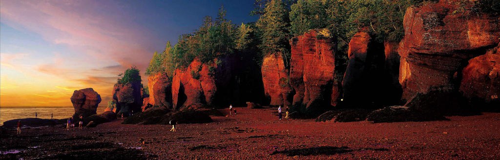 5864647395 08c6fd1697 b Природное чудо   скалы Хоупвелл в заливе Фанди