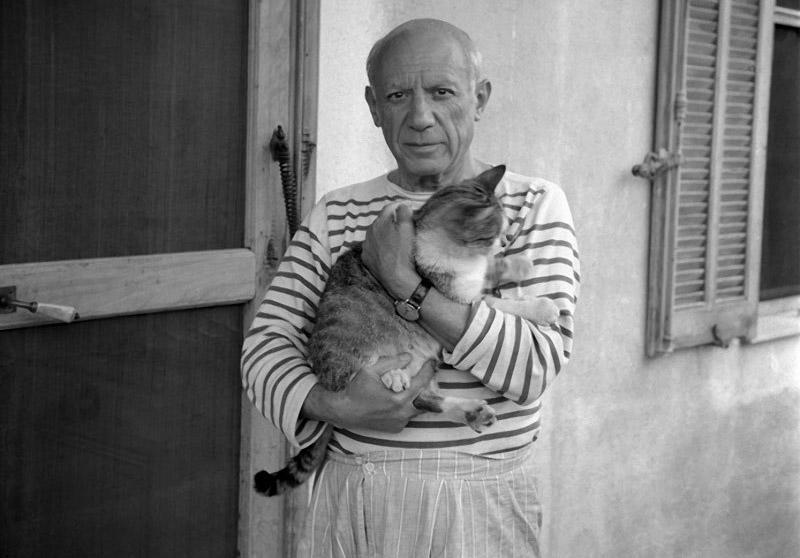 BIGPIC1 Известные художники и их коты