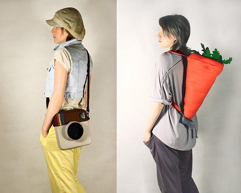 Очень необычные сумочки