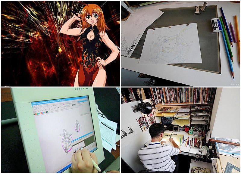 Как создают аниме
