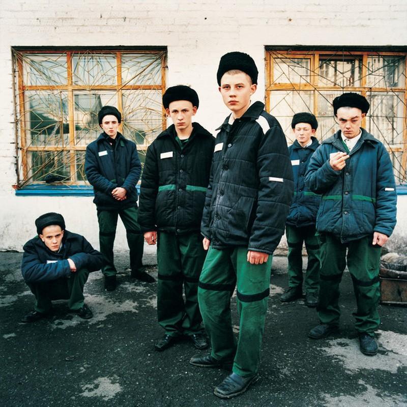 Chelbin01 Жизнь заключённых в объективе Михаль Челбин