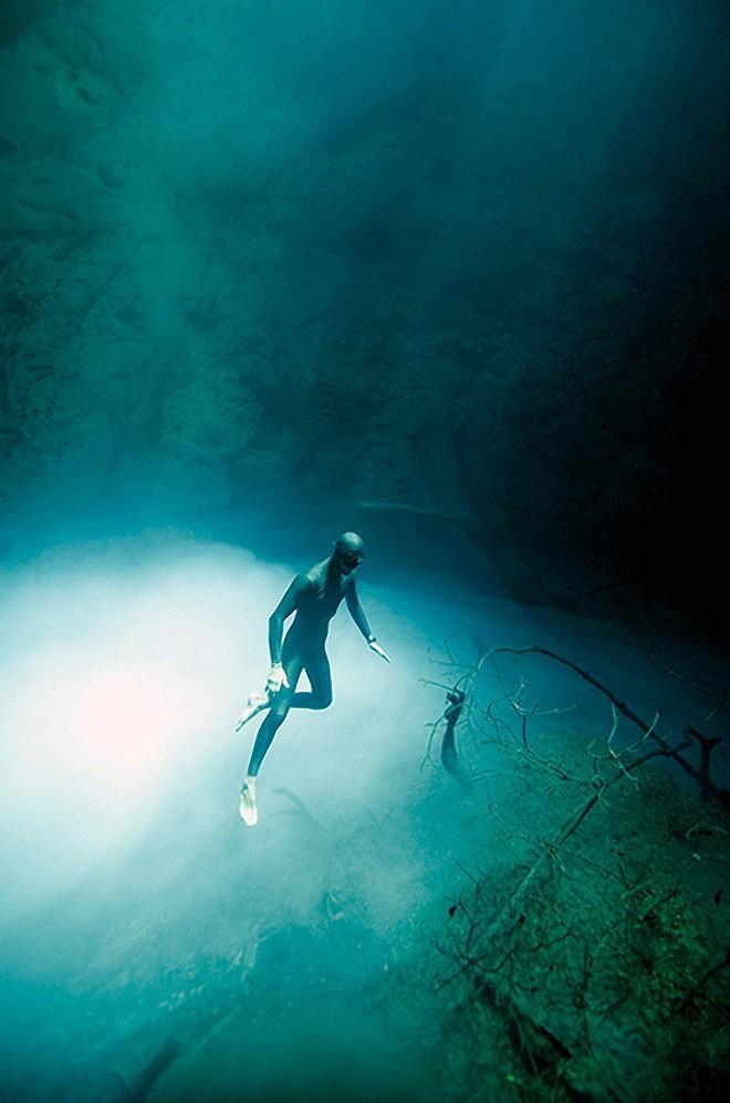 Freedive10 Остановив дыхание