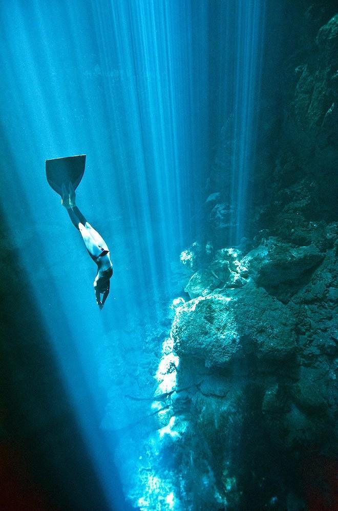 Freedive11 Остановив дыхание