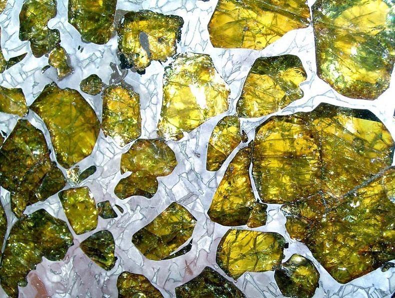 Fukang07 Необычайно красивый метеорит Фукан