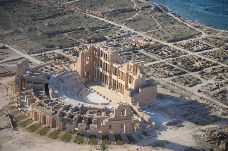 Lybiancoast01 800x531 Побережье Ливии с воздуха