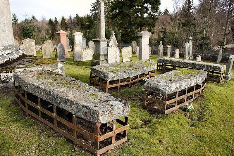 Mortsafe07 Как британцы защищали близких от похитителей тел