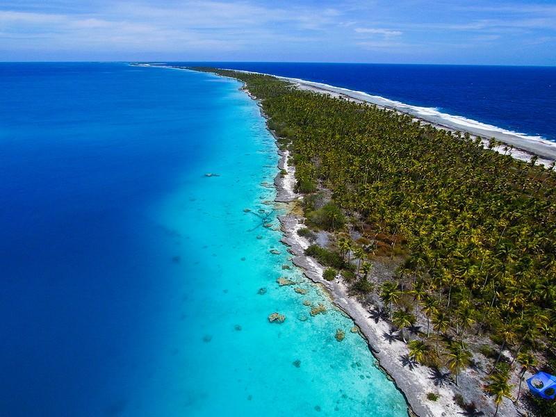 Polynesianparadise03 Полинезийский рай с высоты воздушного змея