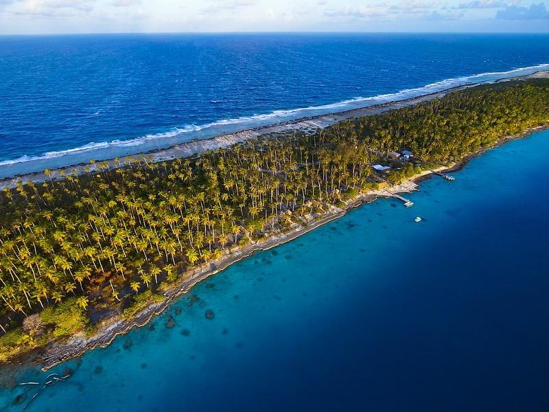 Polynesianparadise04 Полинезийский рай с высоты воздушного змея