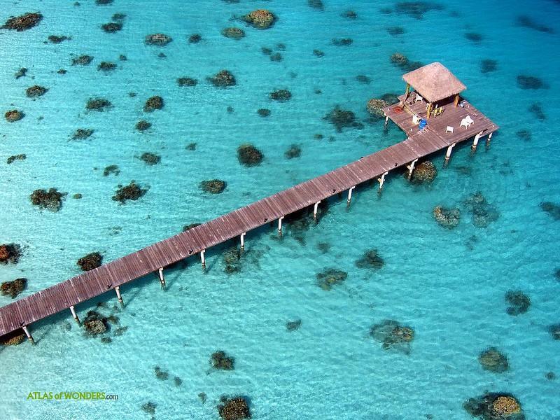 Polynesianparadise08 Полинезийский рай с высоты воздушного змея