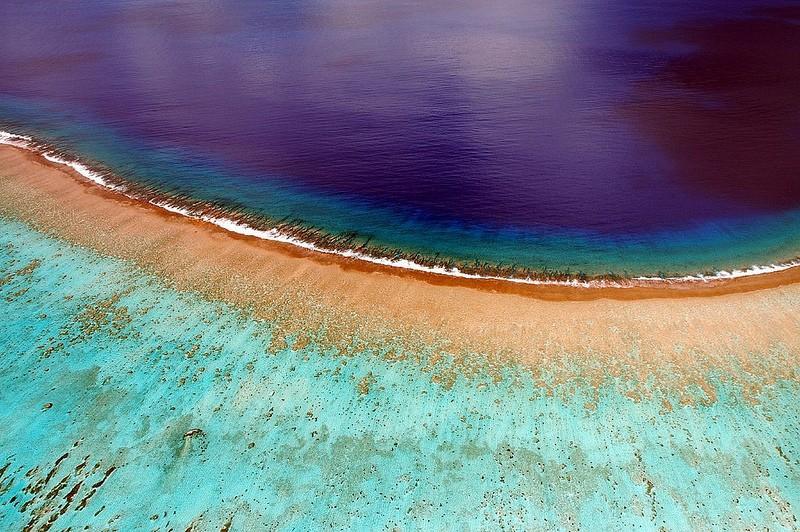 Polynesianparadise10 Полинезийский рай с высоты воздушного змея