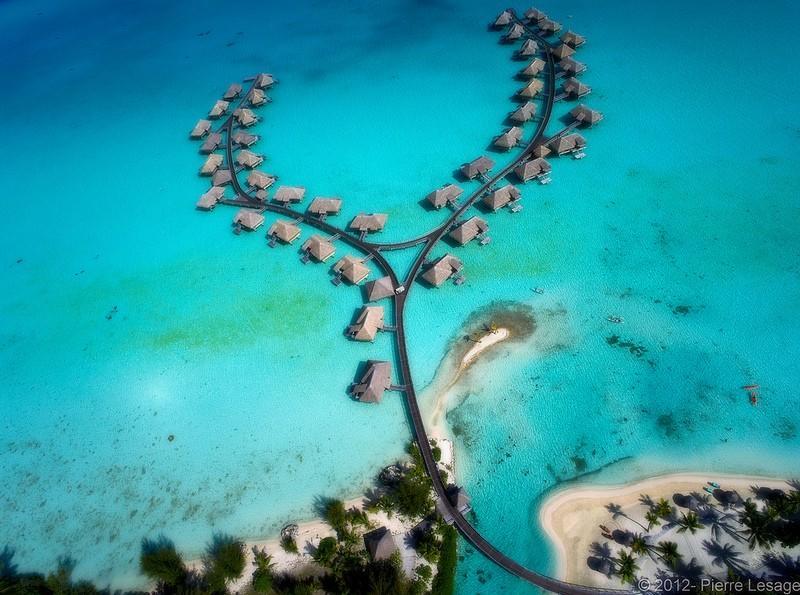 Polynesianparadise12 Полинезийский рай с высоты воздушного змея
