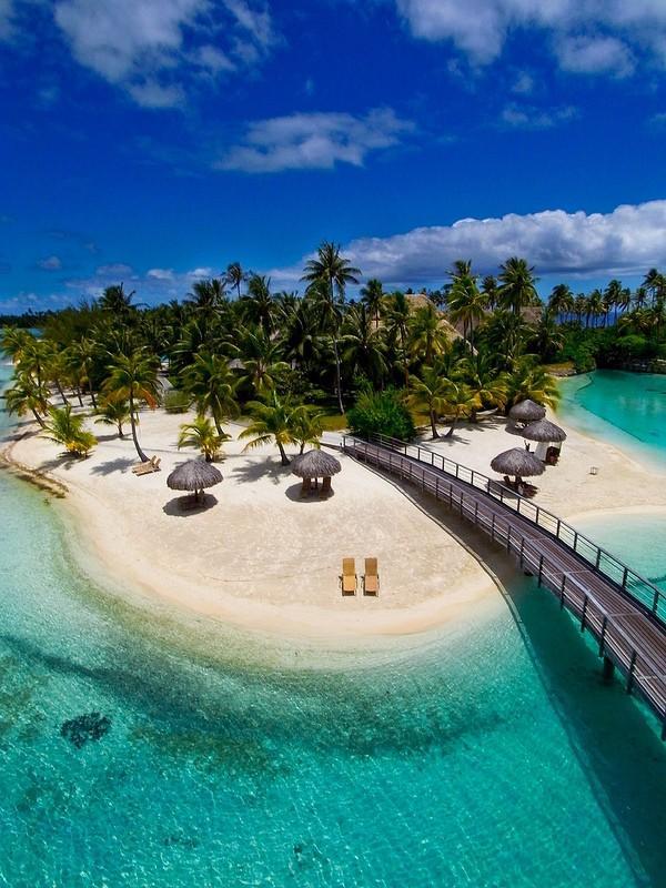 Polynesianparadise13 Полинезийский рай с высоты воздушного змея