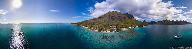 Polynesianparadise15 Полинезийский рай с высоты воздушного змея