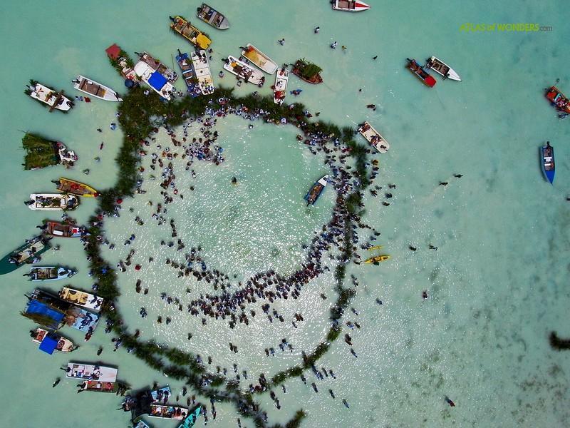 Polynesianparadise16 Полинезийский рай с высоты воздушного змея