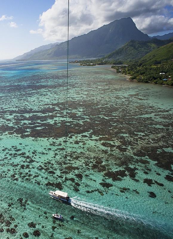 Polynesianparadise18 Полинезийский рай с высоты воздушного змея