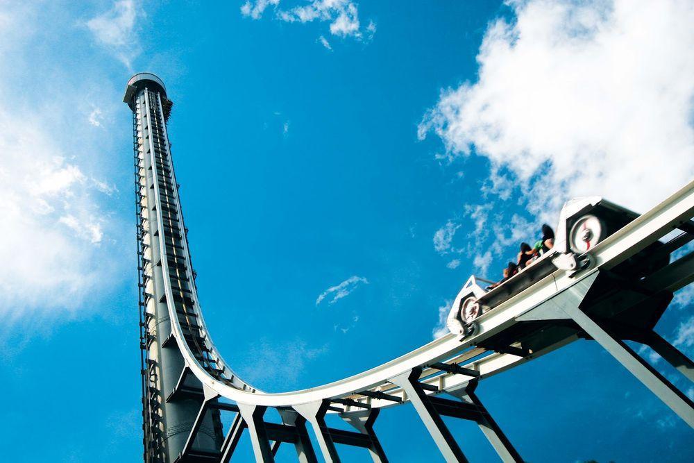Rollercoaster02 10 самых страшных американских горок в мире
