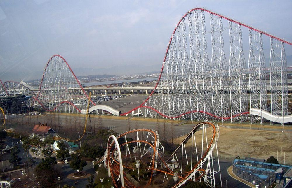 Rollercoaster03 10 самых страшных американских горок в мире