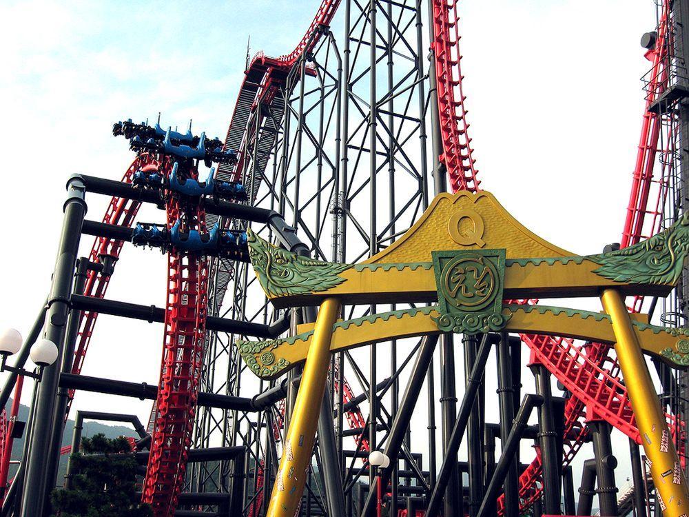 Rollercoaster10 10 самых страшных американских горок в мире