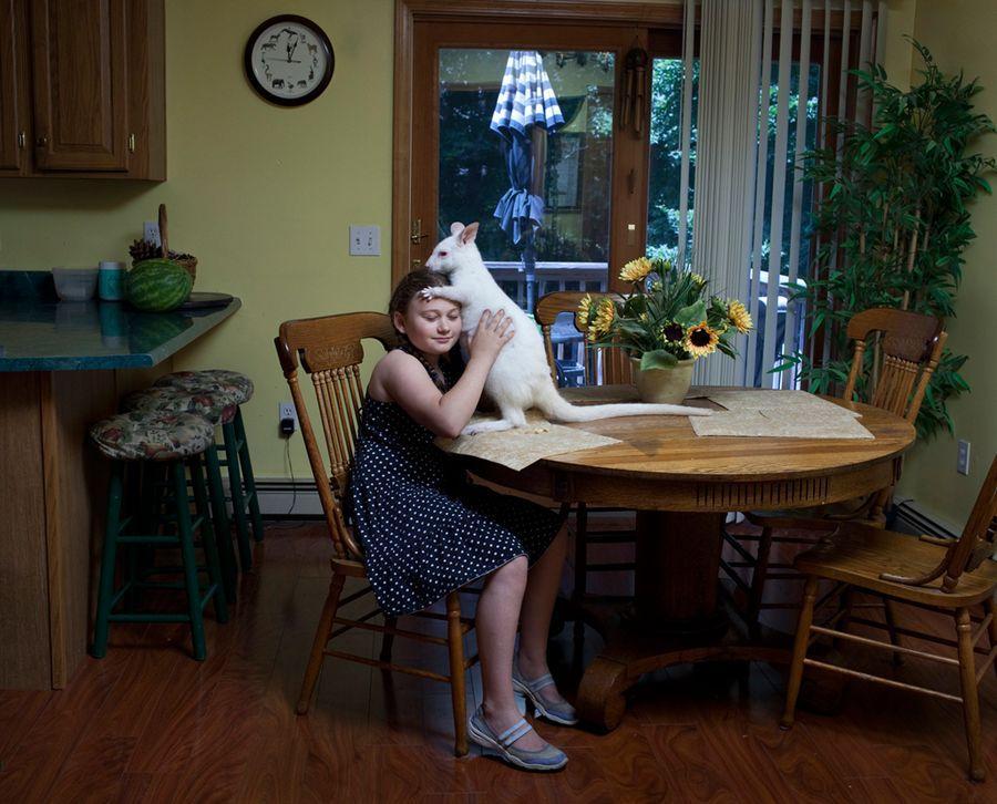 Schwartz16 Мир Амелии   девочка и ее животные