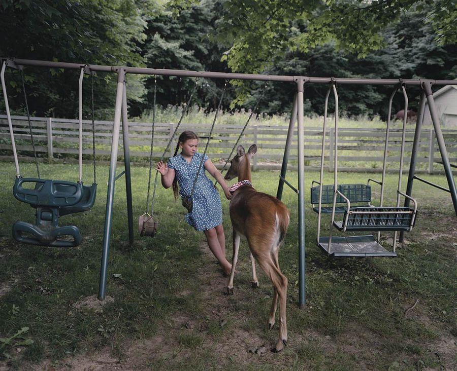 Schwartz27 Мир Амелии   девочка и ее животные