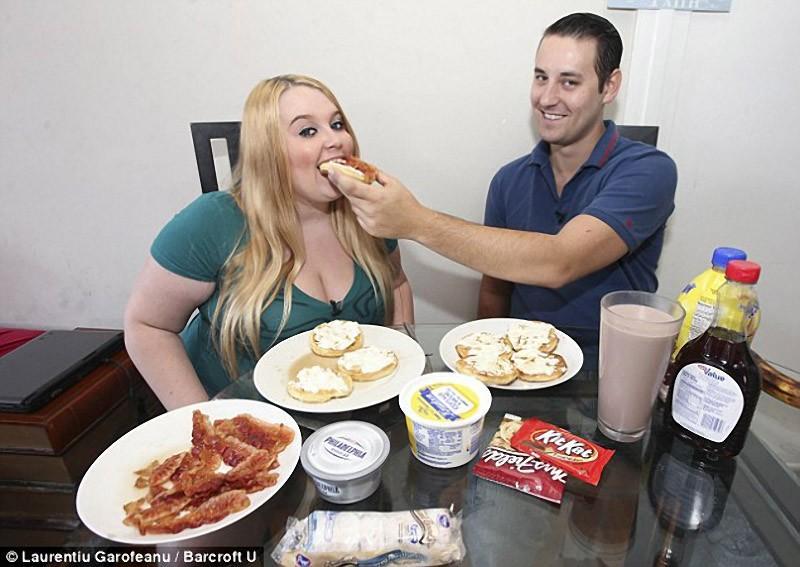Tammy09 5000 калорий в день   набрать вес, чтобы прославиться в интернете