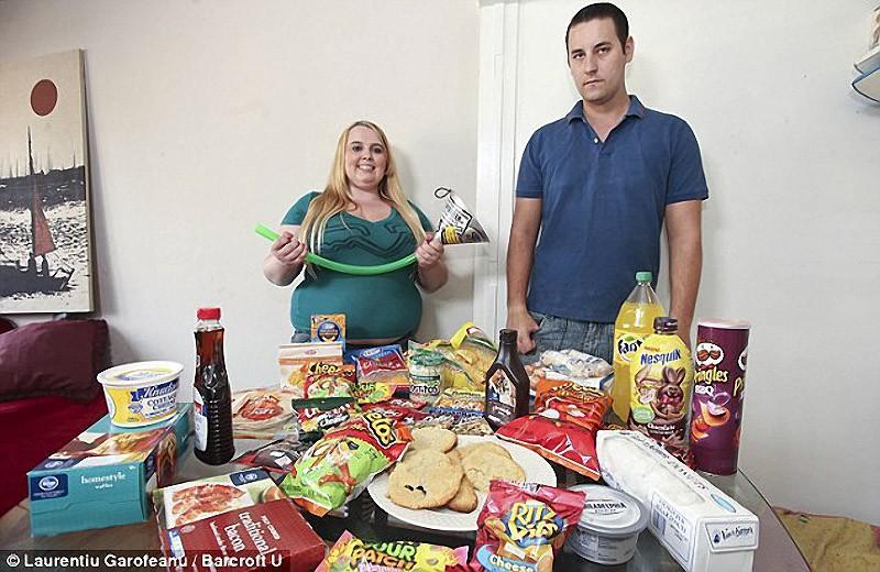 Tammy10 5000 калорий в день   набрать вес, чтобы прославиться в интернете