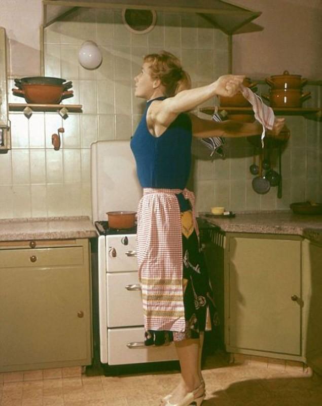 exercises09 Гимнастика для домохозяек без отрыва от повседневной рутины