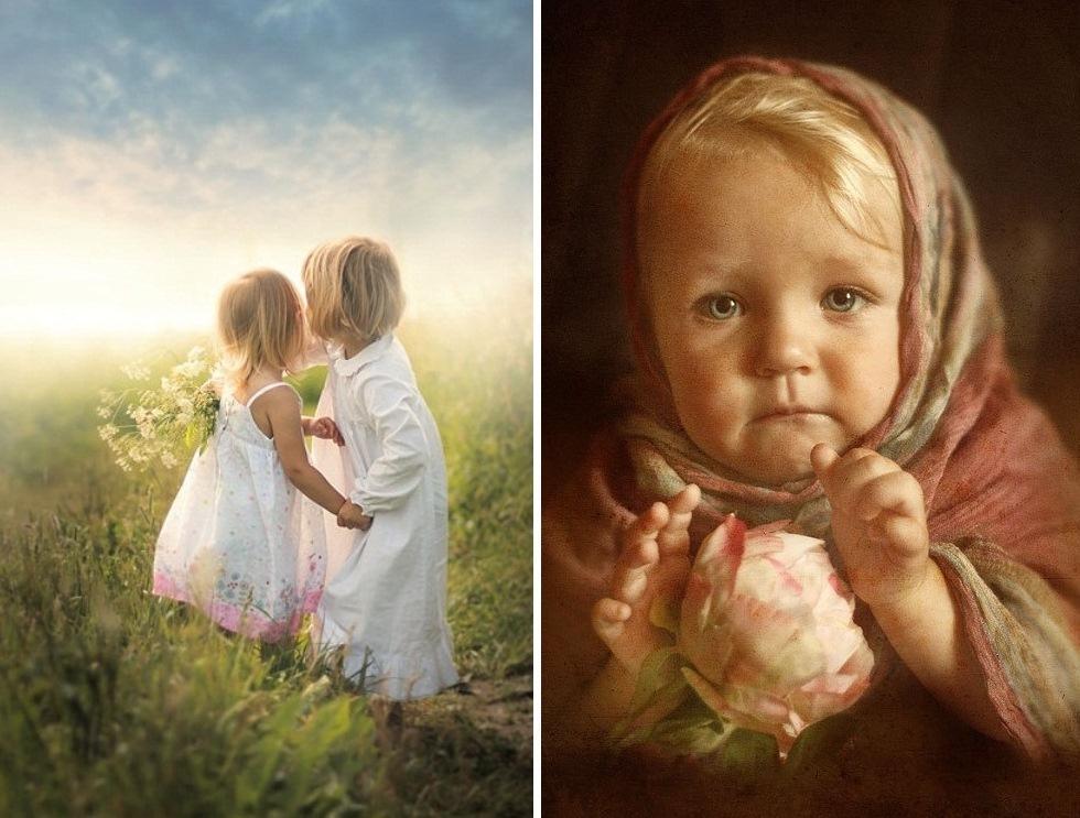 kids36 Трогательные детские портреты