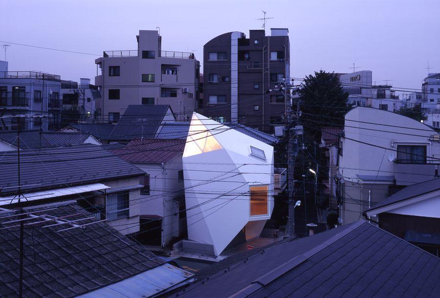 microhouses11 10 потрясающих японских микродомов
