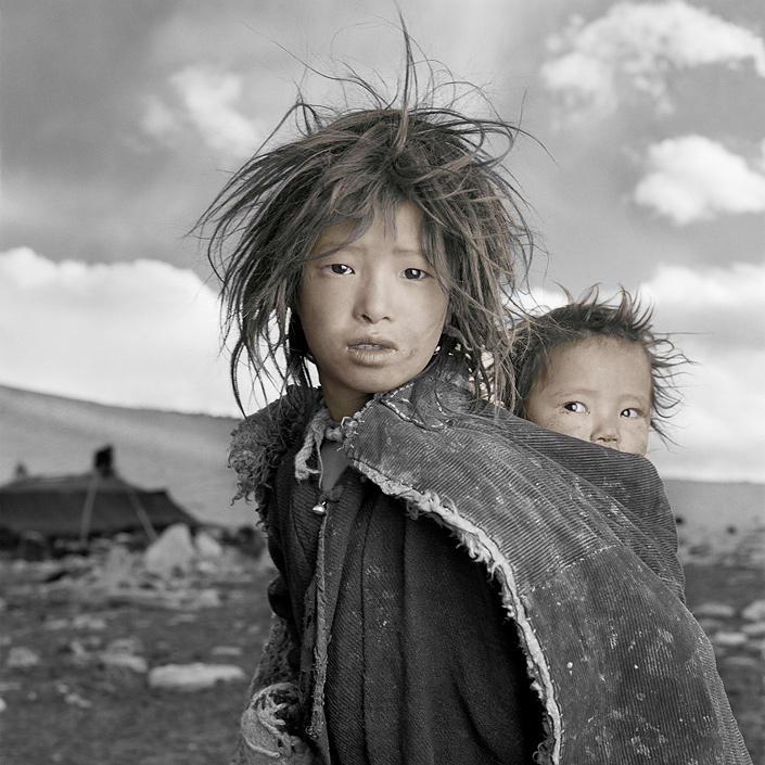 phil borges 01 Жители Тибета в объективе Фила Борджеса