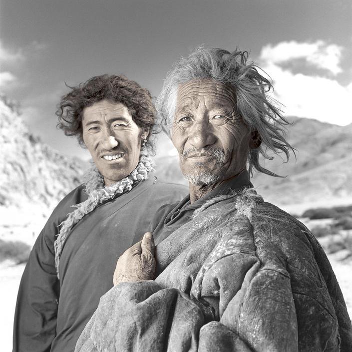 phil borges 03 Жители Тибета в объективе Фила Борджеса