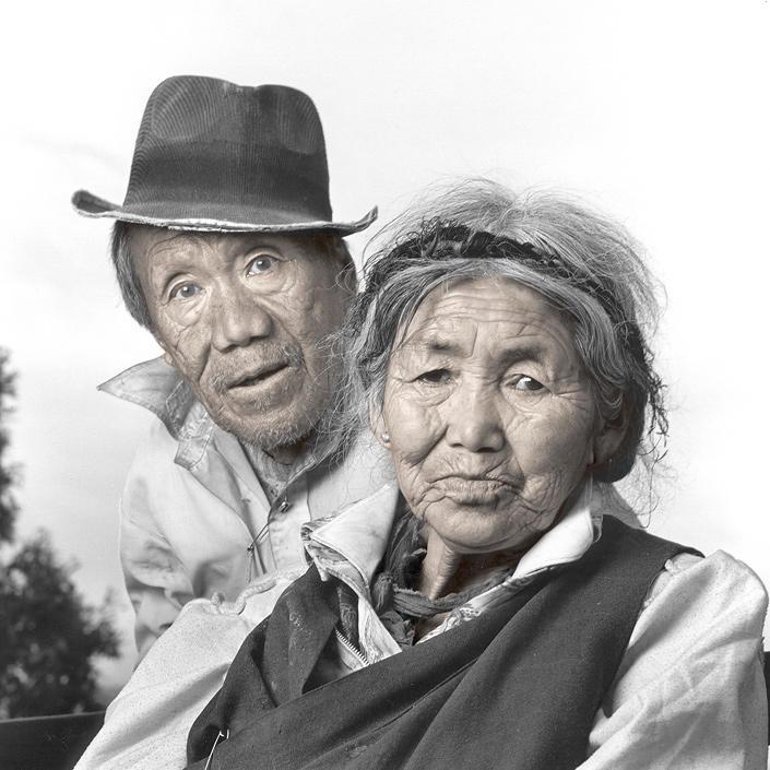 phil borges 09 Жители Тибета в объективе Фила Борджеса