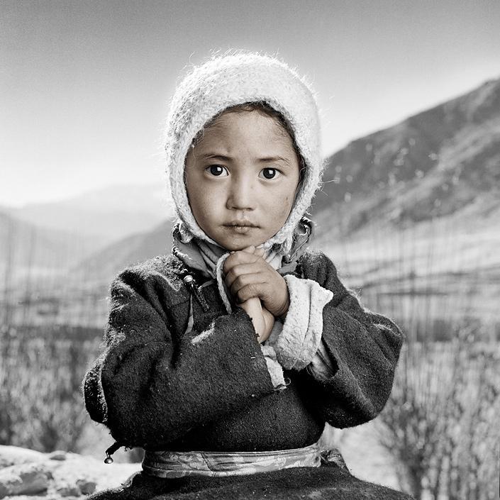 phil borges 10 Жители Тибета в объективе Фила Борджеса