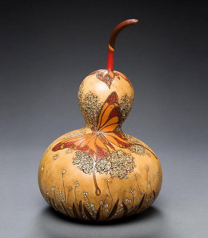 Шедевры из тыквы от Мэрилин Сандерлэнд