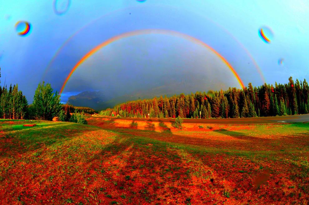 Картинки самая красивая радуга