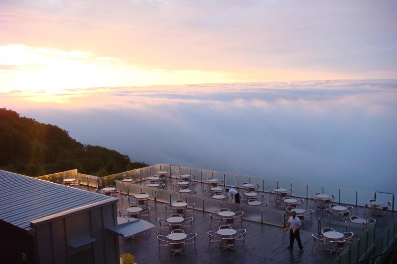 Terraza Unkay Un Lugar Mágico Por Encima De Las Nubes