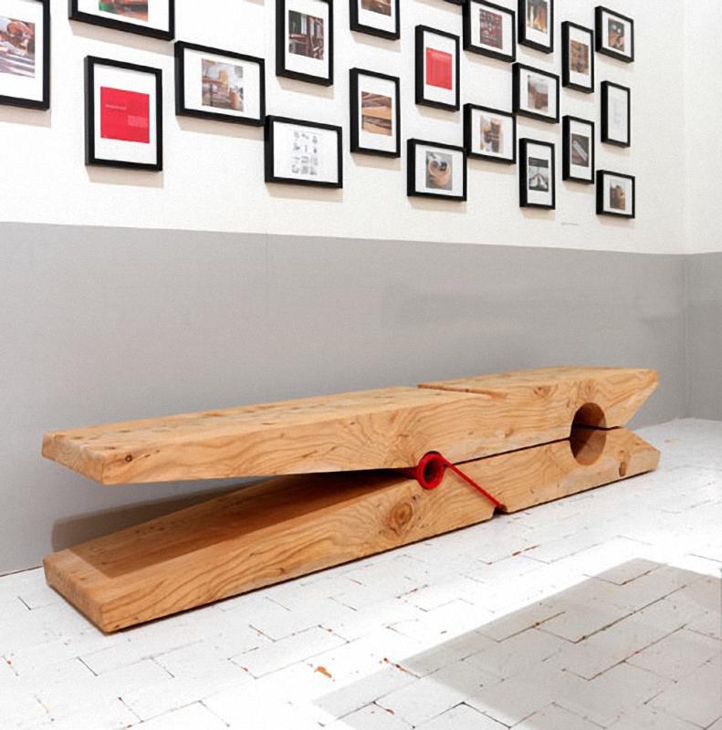 10prishepka Арт скамейки: самая необычная городская мебель