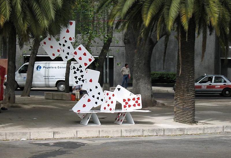 11karti Арт скамейки: самая необычная городская мебель