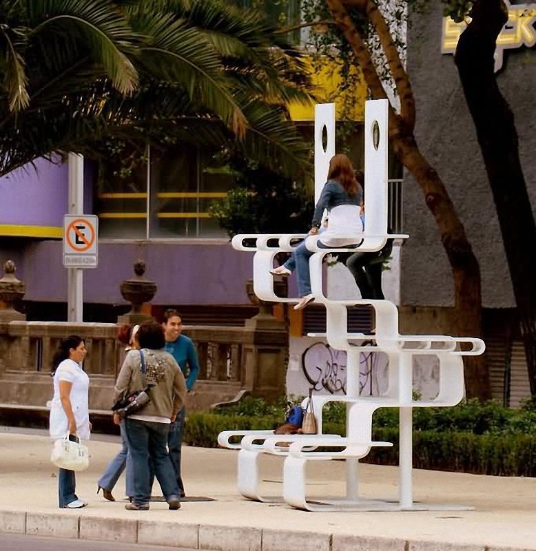124 Арт скамейки: самая необычная городская мебель