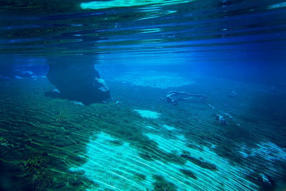 Самое чистое озеро в мире (фото) .