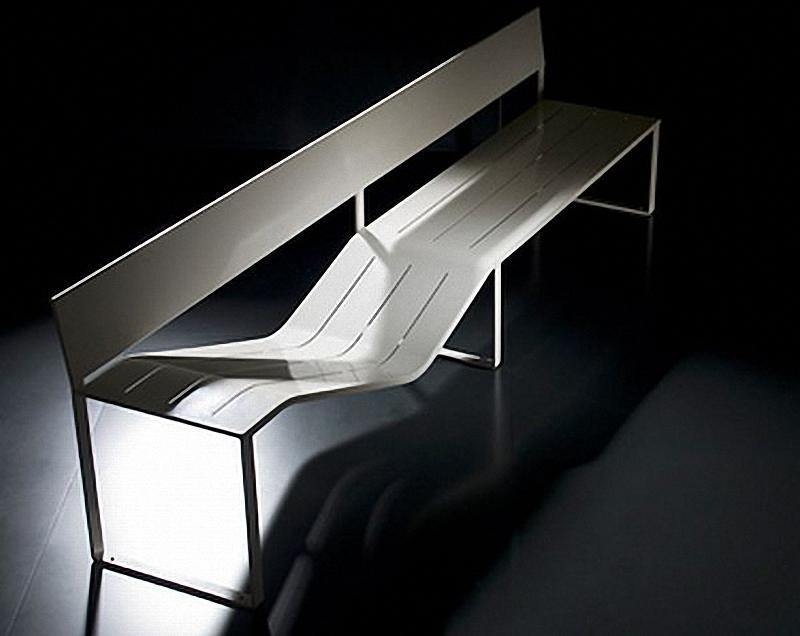 43 Арт скамейки: самая необычная городская мебель