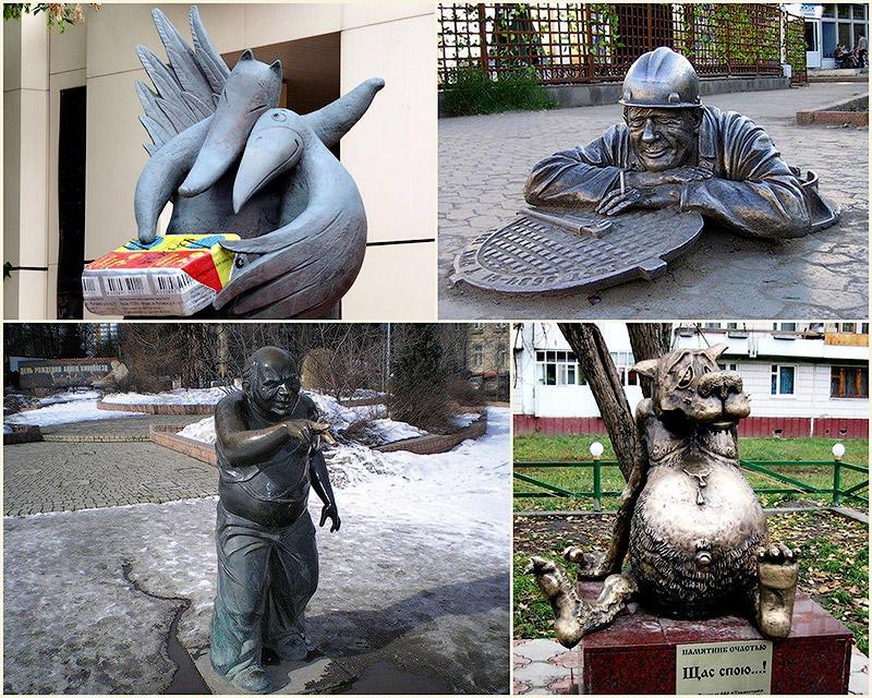 BIGPIC18 10 самых веселых памятников в России