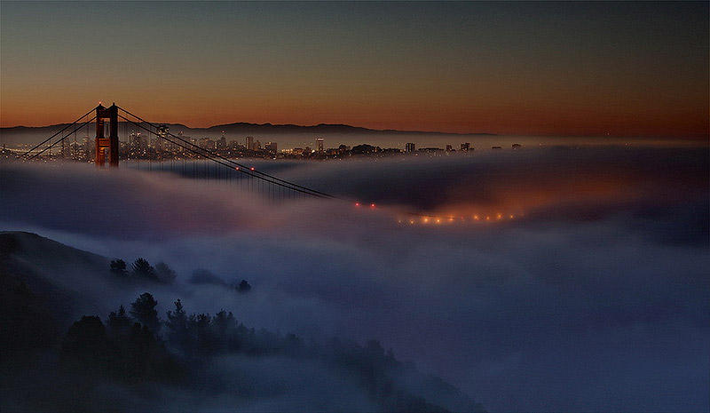BIGPIC24 Сан Франциско в тумане