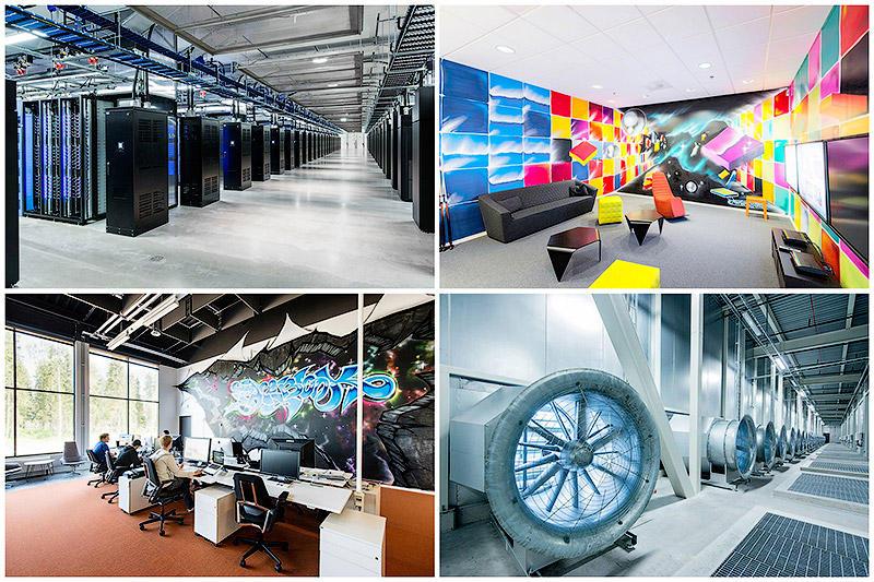 BIGPIC26 Центр обработки данных Facebook возле Полярного круга